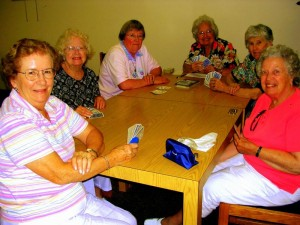 Image of Seniors playing cards