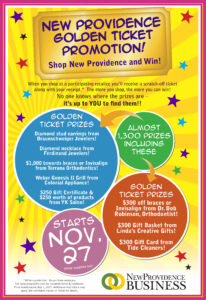 NEW! Golden Ticket Promotion!